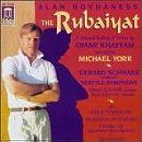 Hovhaness: The Rubaiyat / Exile Symphony (Symphony No. 1) / Meditation on Orpheus / Fantasy on Japanese Woodprints