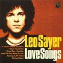 LEO SAYER - Leo Sayer Love Songs - Zortam Music