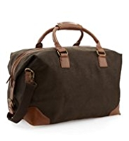 Flocked Holdall