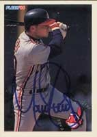 Mark Lewis Cleveland Indians 1994 Fleer Autographed Hand Signed Trading Card. by Hall+of+Fame+Memorabilia