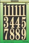 Self Stick Number