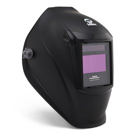 Miller Electric 282000 Digital Performance Auto Darkening Welding Helmet with Clearlight Lens Technology (Black) (Color: Black)