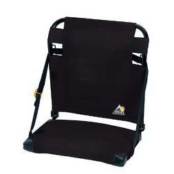 GCI Outdoor BleacherBack Stadium Seat, Black