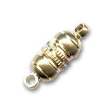 Gold plated Magnetverschluß 17x6mm x1