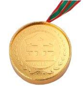 メダル箱入チョコ 金メダル