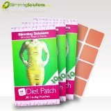 Weight Loss & Diet Patches by Slimming Solutions - 3 Month Supply, 90 Slim Patches