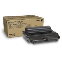 Xerox 106R01412 Phaser 3300MFP cartridge Tonerkartusche hohe Kapazität 8.000 Seiten, schwarz