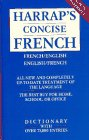 Harrap's French-English Concise Dictionary/Harrap's Anglais-Francais Concise Dictionnaire (0671888129) by Patricia Forbes