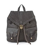 Indigo Collection Leather Rucksack