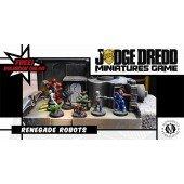 Judge Dredd 28mm Miniatures: Renegade Robots Box Set