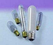 Sylvania 60 Watt T10 Exit Light Bulb With Showcase Lamp Inside Frost Finish Medium Base 120V - 60T10/Cf 120V Model Number 18711-Syl