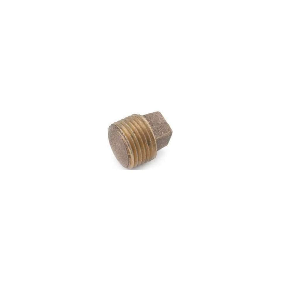 Anderson Metal 38714 04 Brass Pipe Fittings 1/4  Solid Red Brass