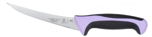 Mercer Cutlery Millennia Curved Boning Knife, 6-Inch, Purple
