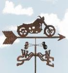 Motorcycle - Classic Garden Stake Weathervane