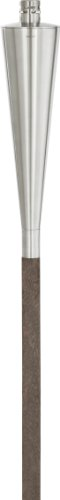 blomus 65007 Torch with Beechwood Stake, Cone Style