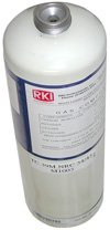Cylinder, R-22 (Freon 22), 2000 ppm in Air, 34L by RKI Instruments (Gas Freon 22 compare prices)
