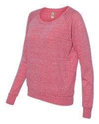 Ladies' Slouchy Pullover - ECO FUCHSIA - M