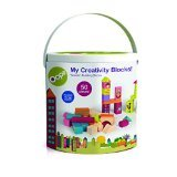 Oops My Creative Blocks - City and Forest Set - Encourages Imaginative and Mental Development - Safe and Easy Clean - 50-Piece - Ages 3 and Up - 1