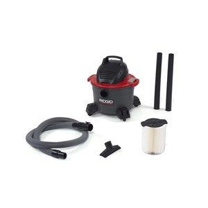 Ridgid 50308 Wet/Dry Vacuum, 6 gallon, Red (Ridgid Wet Dry Vacuum 6 Gallon compare prices)