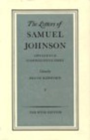 The Letters of Samuel Johnson: Appendices and Comprehensive Index v. 5