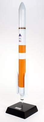 Delta IV Rocket (Medium) Handcrafted Quality Desktop Rocket Model Display / Orbital Launch Vehicle Rocket / Unique and Perfect Collectible Gift Idea / Aviation Historical Replica Gift Toy