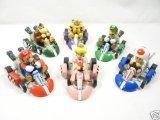 BIGOCT Mario Kart Cars Pull Backs Figure Set (Super Mario Cars compare prices)