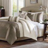 Madison Park Amherst 7 pcs Comforter Set - Natural - Queen