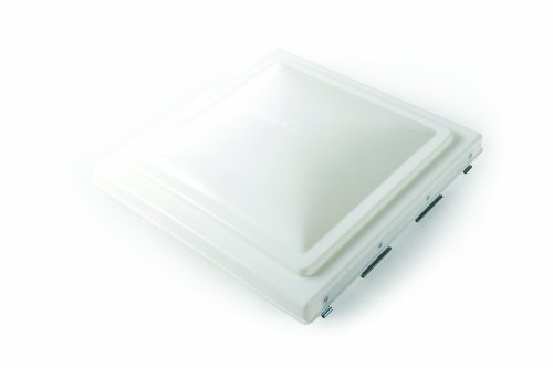 Camco 40154/40157 RV White Polypropylene Vent Lid - Jensen (pre 1994)