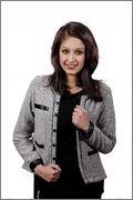 Fadjuice Women's Smart Fit Jacket (Fj43940L_Black White_Large)