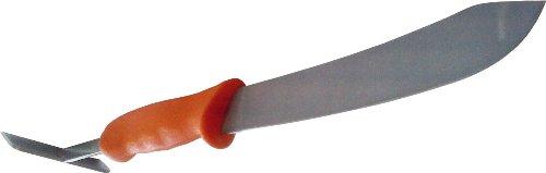 Zenport K118RL Row Crop Harvest Lettuce Trimmer/ Knife/ Hoe Multi-Tool, 7.75-Inch Blade, 3.75-Inch Hoe