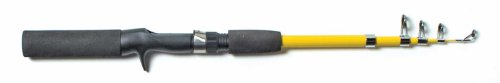 Eagle Claw Pack-IT Telescopic Spincast Rod, 1 Piece (Yellow, 5-Feet 6-Inch)