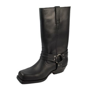 Loblan Cowboy Boots 295 Matt Black - Mens 43 (9 uk)