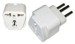 Ckitze Ba11_2Pk Usa And European To Switzerland Plug Adapter, 2-Pack