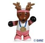 Webkinz Reindeer Figurine - 1