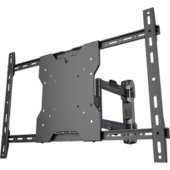 "Ultra Slim Low Profile Articulating Tv Wall Mount For 37""-55"" Led Flat Panel Displays - Fits Vesa 300X100Mm, 300X200Mm, 300X300Mm, 400X300Mm, 400X400Mm, 600X400Mm"