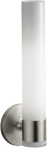 Kohler K-14483-Bn Purist Single Wall Sconce, Vibrant Brushed Nickel