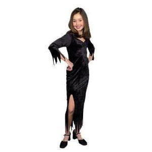 CHILD Crushed Panne Velvet Wee Witchy Woman Costume - Discontinued Style