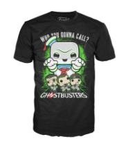 Funko Men's Ghostbusters - Stay Puft Lime Mist, Black, Small