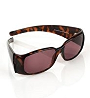 Large Mock Tortoiseshell Reading Sunglasses