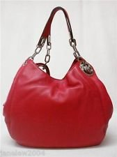 Reduced Michael Kors Fulton Shoulder - Michael Michael Kors Shoulder Scarlet Dp B00m2sc9qg