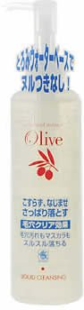 kurobara-honpo-olive-garden-face-care-moist-cleansing-liquid-200ml-japan-import