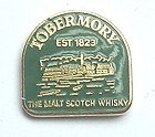 Tobermory Whisky Distillery Isle of Mull Scotland Pin Badge