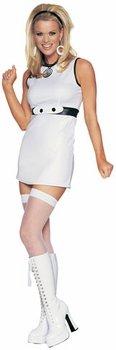 [60's Mod Girl Costume (Size: Women's Medium 2-8)] (60s Mod Girl Costumes)