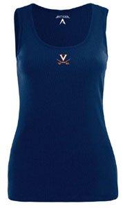 Virginia Cavaliers NCAA Fan Tank Ladies Tank Top (Navy) by Antigua