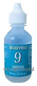 9 Iodine Trace Minerals 2 oz by BodyBio / E-Lyte