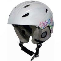 Manbi Park Snowsports Helmet (Stars White Pearl) 59-60cm from Manbi