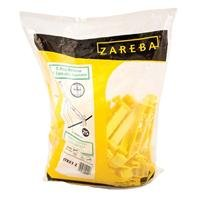 3 PACK ZAREBA T-POST REVERSE 5 EXTENDER INSULATOR, Color: YELLOW; Units Per Package: 25