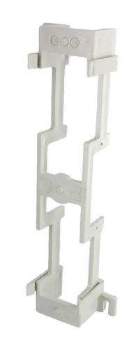 Leviton 40089-B Standoff Bracket For M Blocks (89-B) 10-Inch H By 3-13/32-Inch W By 1-1/2-Inch D
