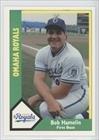 Bob Hamelin (Baseball Card) 1990 Omaha Royals CMC #24 by Omaha Royals CMC