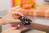 Edge Grip Knife Sharpener. Quick and easy sharpening.